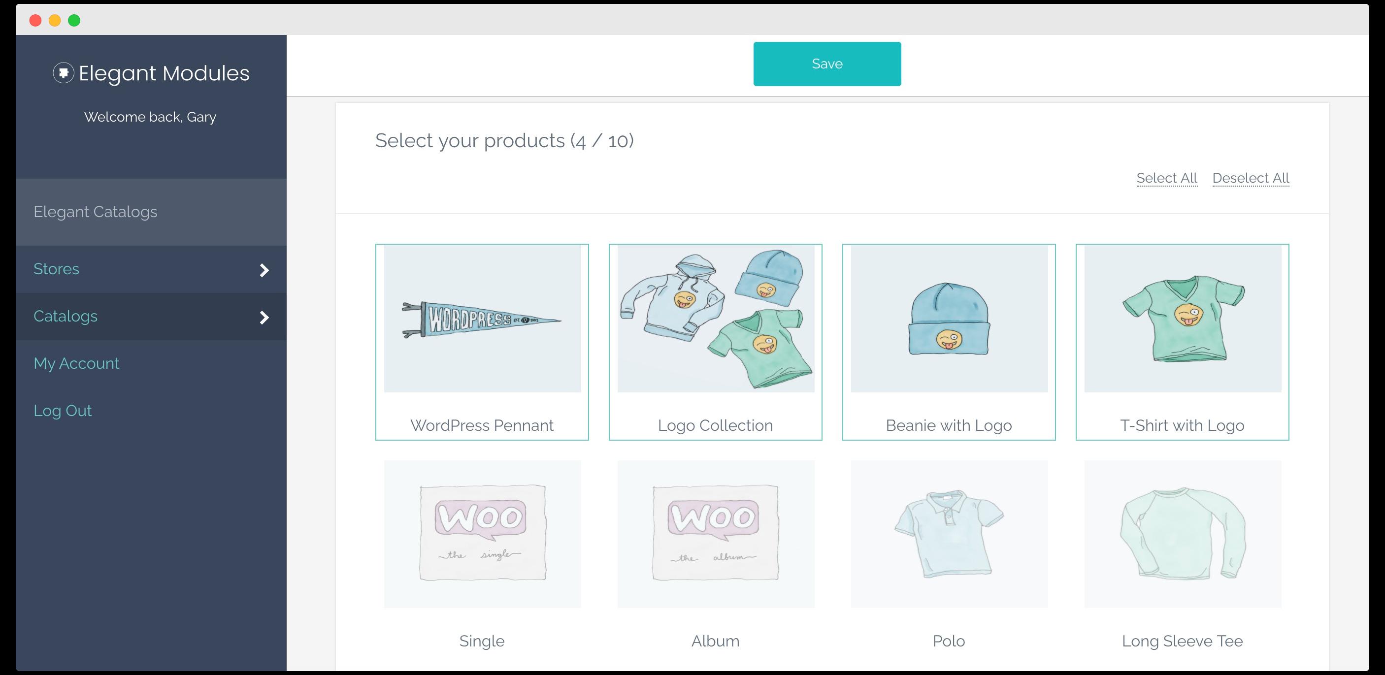 Catalog builder for WooCommerce