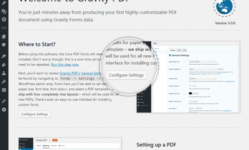 Gravity PDF Support with SyncS3