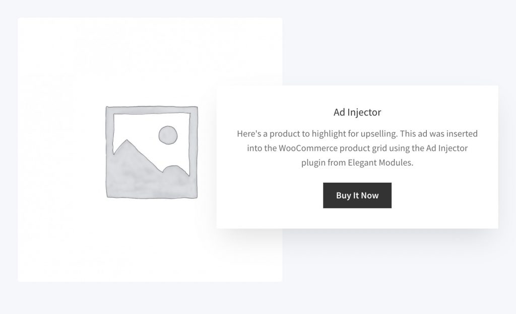 Ad Injector in WooCommerce